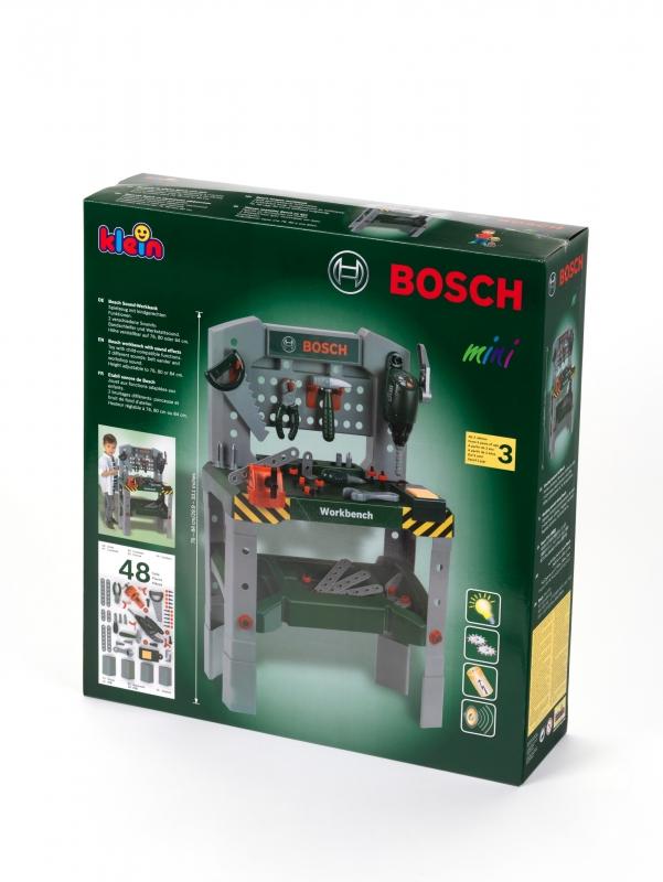 Klein 8637 Warsztat Bosch z dźwiękami SWD