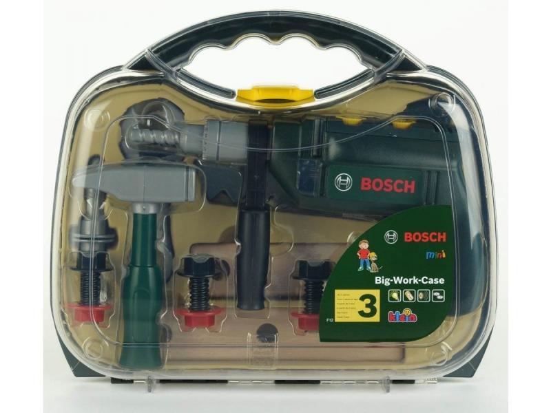 Klein 8416 Walizka z wiertarką i narzędziami Bosch