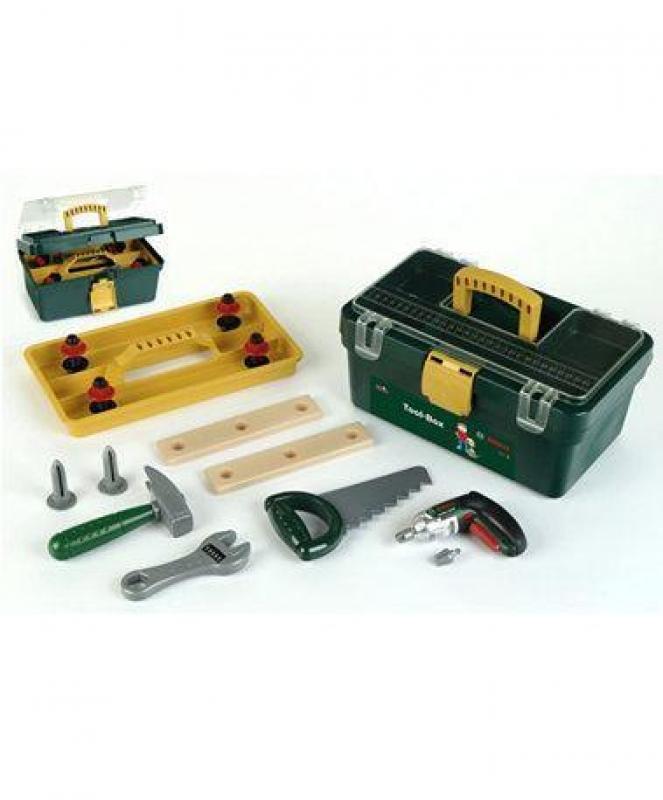Klein 8305 Skrzynka z narzędziami i wkrętarką Bosch