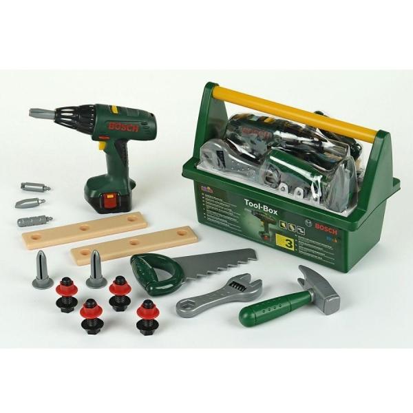 Klein 8429 Skrzynka z wkrętarką i narzędziami Bosch