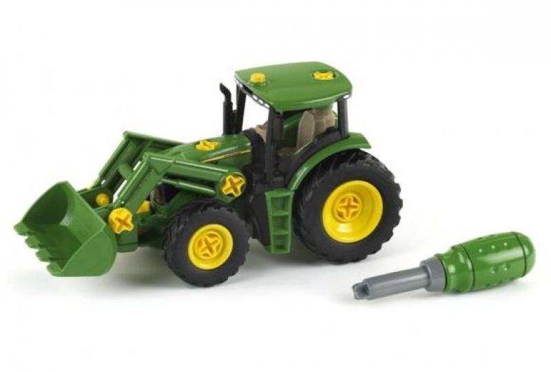 Klein 3903 Traktor John Deere do skręcania