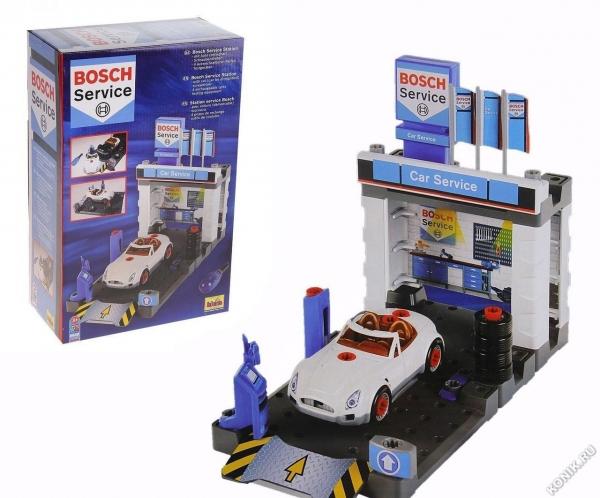 Klein 8648 Stacja obsługi Bosch z samochodem do skręcania