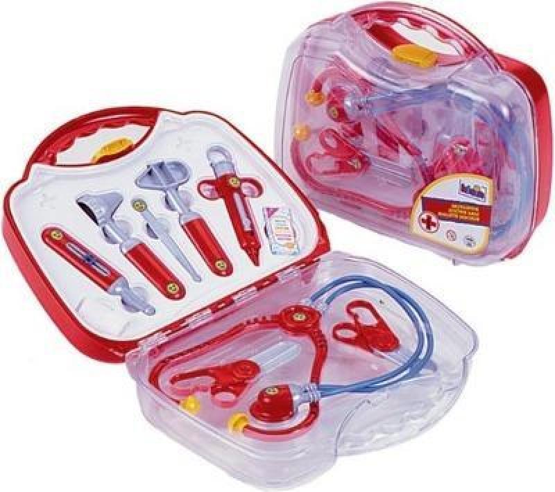 Klein 4395 Zestaw lekarski w walizce transparentnej