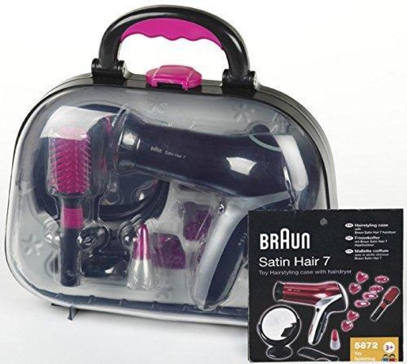 Klein 5872 Walizka fryzjerska Braun Satin Hair