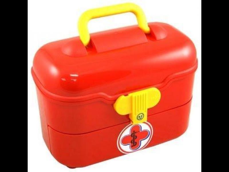 Klein 4360 Zestaw lekarski w kuferku z szufladą