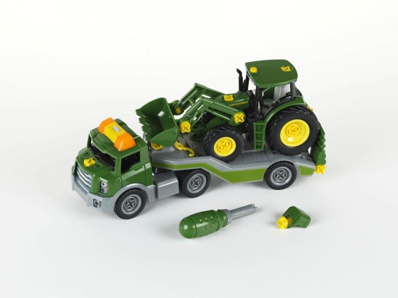 Klein 3908 Traktor John Deere do skręcania na lawecie