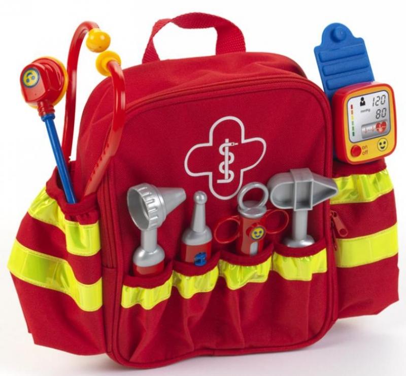 Klein 4314 Plecaczek lekarski z wyposażeniem DE