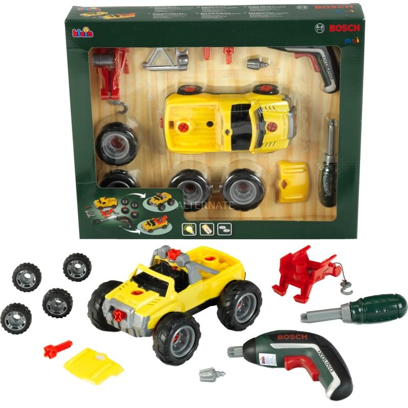 Klein 8689 Samochód do skręcania 3w1 z wkrętarką Ixolino II - żółty