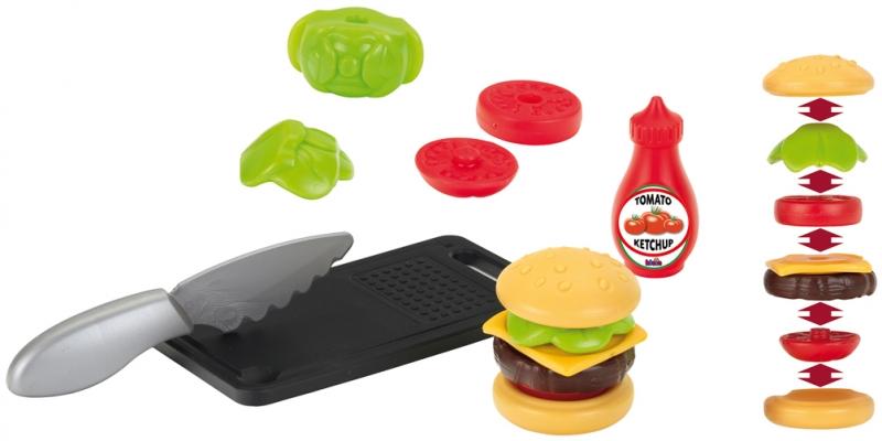 Klein 9111 Zestaw hamburgerowy do krojeniaKlein 9111 Zestaw hamburgerowy do krojenia